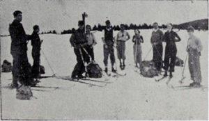 Kayakçılar Kirazlı'da istirahatte