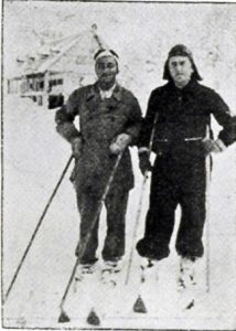 Dağ Spor Başkanı B. Saim Altıok ve B. Tayyar Akkeskin