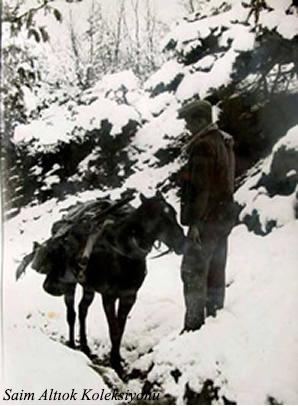 Erzak ve eşya taşıma