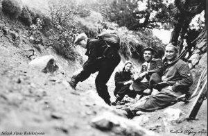 Oturanlar Saim Altıok ve Rauf Alpay 12.04.1936