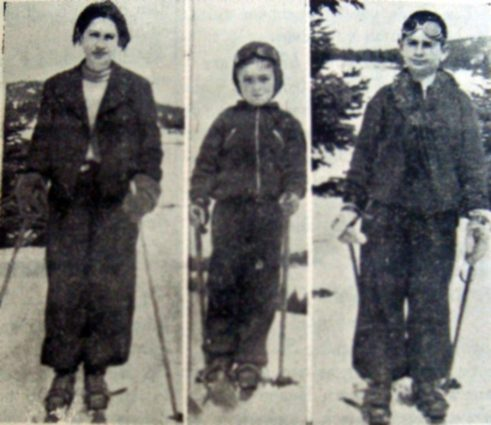 Bursa'ın Üç Küçük Kayakçısı